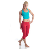 Love Capri Leggings - Red