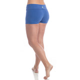 Love Yoga Shorts - Royal Blue