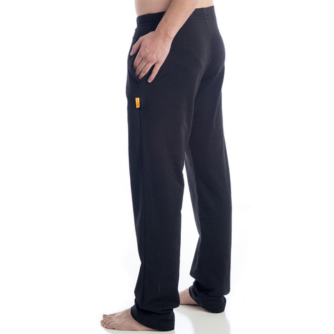Strength Men's Yoga Pants Regular and Tall Inseam - Black
