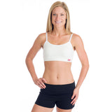 Strength Reversible Sports Bra - White