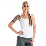 Strength Yoga Tank Camisole - White
