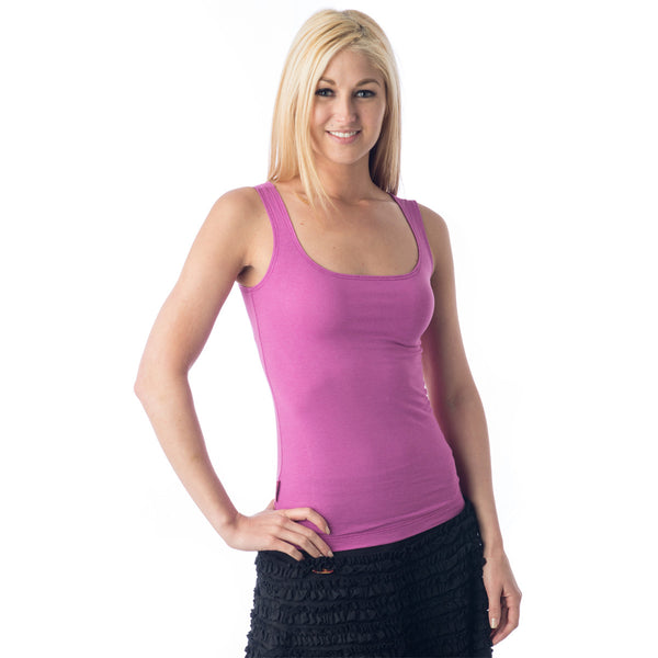 Strength Bamboo Tank Top - Orchid