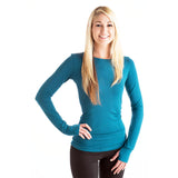 Strength Bamboo Long Sleeve T-Shirt - Teal