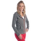 Strength Zippered Hoodie - Charcoal