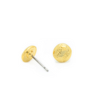 Petite Baseball Stud Earrings