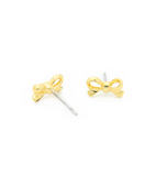 Petite Bow Stud Earrings
