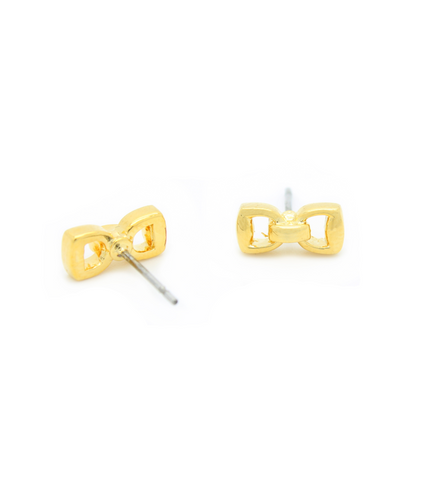 Petite Horse Bit Stud Earrings