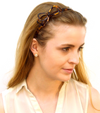 Tortoise Bow Headband