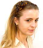 Tortoise Rose Headband