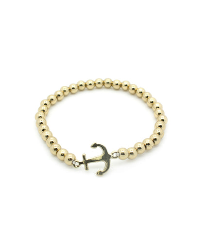 Stretch Anchor Bracelet