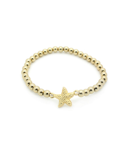 Stretch Starfish Bracelet