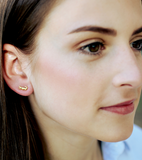 Petite Alligator Stud Earrings