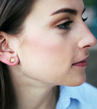 Petite Clover Stud Earrings