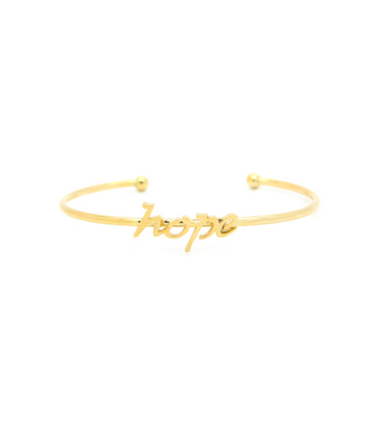 "Word Fun ""Hope"" Cuff"