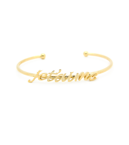 "Word Fun ""Je t'aime"" Cuff"