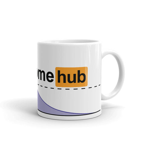 Stayhomehub Mug - Pornhub Apparel