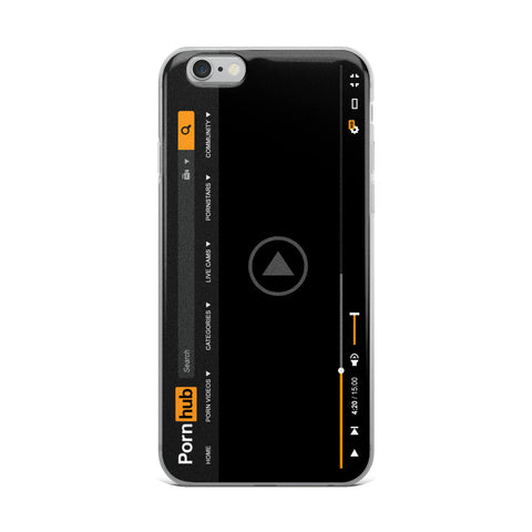 Pornhub Player iPhone Cases - Pornhub Apparel