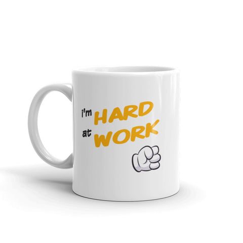 "The Pornhub ""Hard at Work"" Mug - Pornhub Apparel"