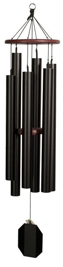 Aqua Tune Handcrafted Wind Chime 51 inch Tex Black Finish USA