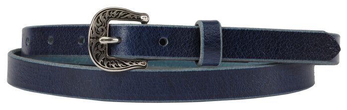 LADIES LEATHER BELT - ¾