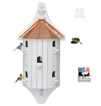 5 ROOM WALL-MOUNT BIRDHOUSE - 30
