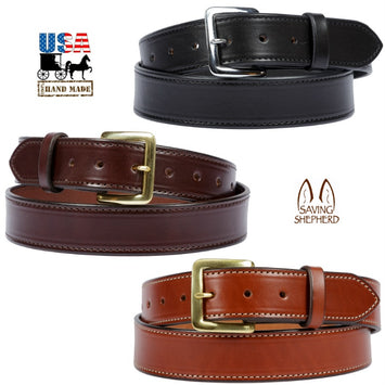BRIDLE LEATHER BELT - 1½