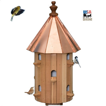 10 ROOM CEDAR BIRDHOUSE- Large 30½