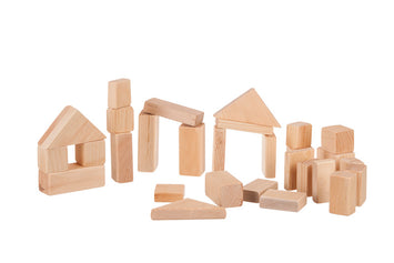 BUILDING BLOCKS - Handmade Classic Wood Construction Block Set