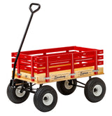"HEAVY DUTY CHILDREN'S WAGON - 10"" Tires 800lb Load Capacity USA"