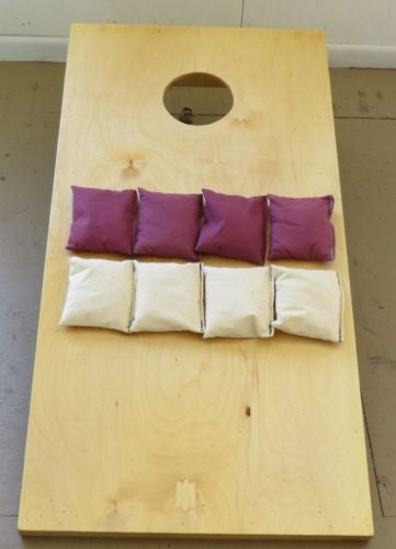 CORN HOLE GAME SET Amish Handmade HILLBILLY HORSESHOES Bean Bag Game