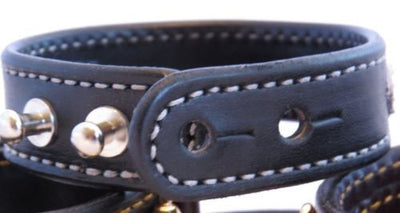 LEATHER HORSE BIT BRACELET Black & Faux Fur Zebra Print with Silver Equestrian Snaffle