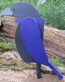 BALTIMORE RAVENS BIRDHOUSE Amish Handmade Lawn & Garden Decor