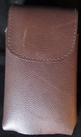 HANDMADE LEATHER PHONE CASE & WALLET Large Belt Holster Sleeve USA