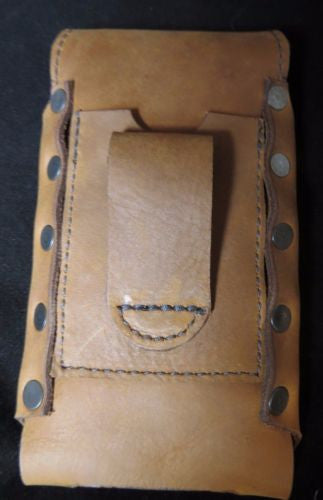 detailing 98971 14224 HANDMADE LEATHER PHONE CASE with WALLET iPhone Plus Galaxy LG Samsung Belt  Holster USA