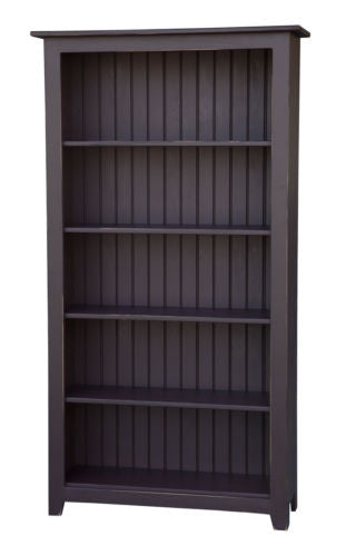 Amish Handmade Cabinet Bookshelf Heirloom Furniture Made in USA