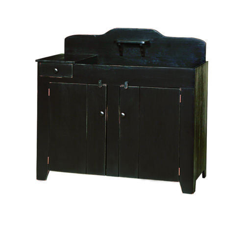 Amish Handmade Kitchen Dry Sink Storage Cabinet Made in USA