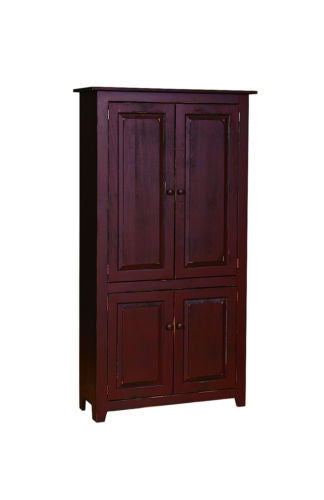 Amish Handmade Kitchen Pantry Heirloom Furniture Made in USA