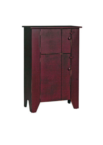 Amish Handmade Kitchen Cabinet Heirloom Furniture Made in USA