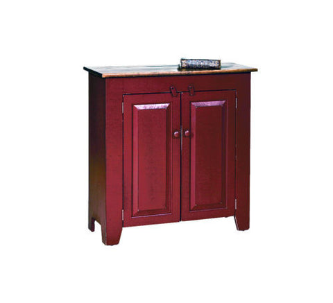 Amish Handmade Storage Cabinet Hutch Cupboard Made in USA