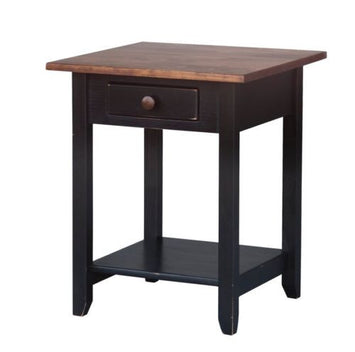 Amish Handmade End Side Table Heirloom Furniture Made in USA