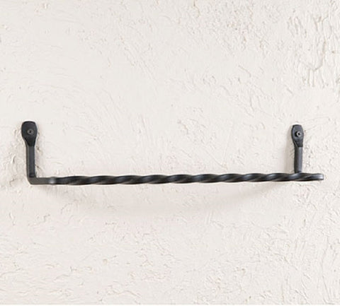 Wrought Iron Herb Hook Primitive Hand Forged Hanging