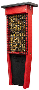 PILEATED WOODPECKER FEEDER - Double Suet Cake Hanger with Tail Prop Amish USA