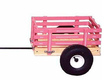 TRICYCLE TRAILER Amish Made Trike Cart for Toys Work Play
