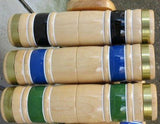 "CROQUET SET & CADDY 6 Player 28"" Maple & Brass Amish Handmade USA"