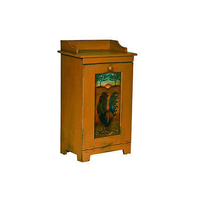 Amish Handmade Trash Bin Container Kitchen Potato Cabinet USA Made