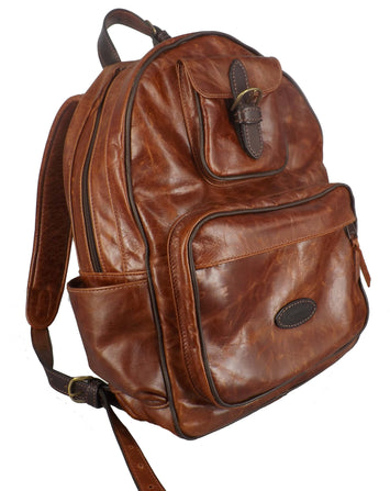 EXECUTIVE LEATHER BACKPACK ~ Timeless Style & Luxury Meets Amish Craftsmanship