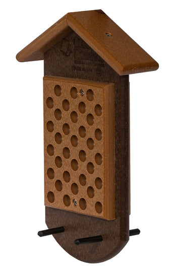 PEANUT BUTTER BIRD FEEDER - Simple & Effective Recycled Poly - Amish Handmade in USA