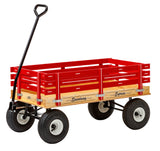 "40"" HEAVY DUTY WAGON - 10"" Tires 1000lb Load Capacity USA"
