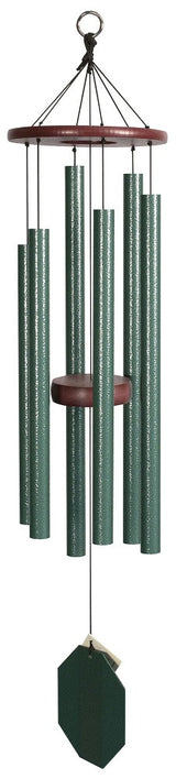 Songbird 32 inch handmade Green Wind Chime USA