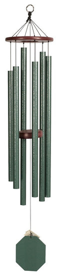 Forest Edhe 44 inch Amish Handmade Green Wind Chime